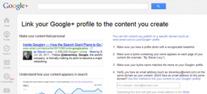 Linking your G+ profile to the content you create -- Online Marketing Philippines