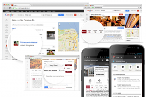 Sample of Google Local Places -- online marketing outsourcing