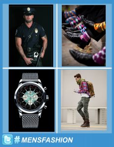 Men's Fashion used as hashtag -- Web Design Outsourcing