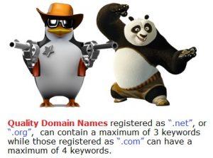 Number of Keywords in EMD -- online marketing outsourcing