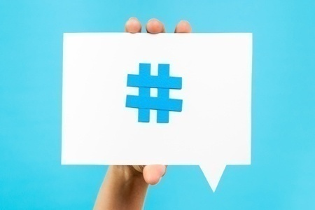 hashtag role in marketing and social media
